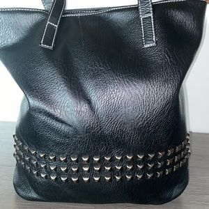 New: Faux Leather Shoulder Bag